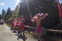 Tous fans du Tour De France 2012 ! / Le Tour, c'est 3 500 kilomètres de sourires ! Merci aux fans, qui nous font rêver chaque année.  Hommage avec les plus beaux costumes et déguisements vus sur le Tour de France 2012 !