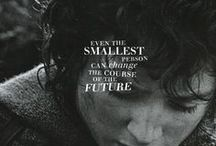 """middle earth / """"In a hole in the ground there lived a Hobbit."""" (J.R.R. Tolkien)"""