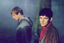 """merlin / """"In a land of myth and a time of magic the destiny of a great kingdom rests on the shoulders of a young man, his name: Merlin."""""""