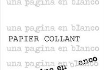 ...PAPIER COLLANT...unapaginaenblanco