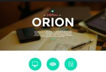 Web design / Inspirations and trends