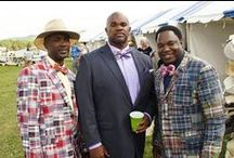 TNSteeplechase ♦ Gentlemen / Not to be outdone by the ladies, the men of Iroquois Steeplechase have brought their own distinct fashion trends to the races. Enjoy some of the Pins from our collection, and tag your pics on Twitter or Instagram with #TNSteepelchase.