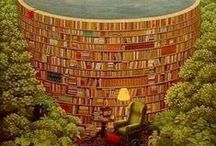 """Read. Learn. Grow. / """"Reading makes me feel I've accomplished something, learned something, become a better person. … Reading is bliss."""" ~ Nora Ephron"""