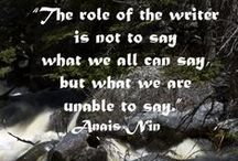 Thoughts About Writing / Thoughts, realities, and inspiration about writing