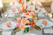 //TABLESCAPES / Wedding table inspiration!  / by Paperwheel | letterpress & design