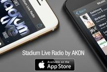 Stadium Live Radio by AKON / Stadium Live Radio features 60 minutes of non-stop smash hits from the world's biggest hit makers. Hosted by Akon.