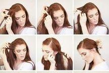 Cabello & Peinados ▽ / En este tablero encontraras peinados, y ideas para pintar tu cabello.