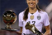 Alex Morgan / The Amazing USA Female Soccer Player: Alex Morgan #13