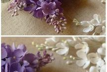 craft / ideas of beautiful handmade craft,  hair clip,  brooches