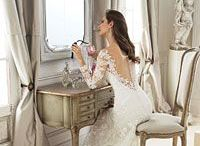 Sophia Tolli / WEDDING DRESSES by Sophia Tolli, these bridal gowns provide both classic and couture designs including strapless ball gowns, A-line dresses, halters and slim skirts. Wedding dresses with Sophia's signature draping and corset backs provide an impeccable fit.