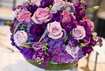 Purple Passion / Get inspired by these pretty purple picks for your big day!