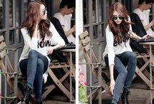 Fashion / Korean fashion.