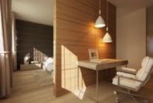 Interior design / Natural colors and textures.