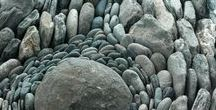 Rocks, stones and pebbles