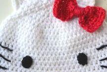 Cute crocheted hat