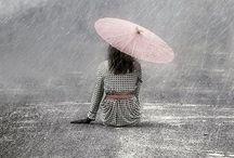 Rainy days ❤️ / Let the rain fall down