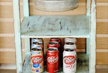 Repurposed furniture! / Want to try these