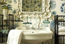 Bathroom Inspiration / Beautiful bathrooms that stand out from the crowd and bathroom inspiration for those who appreciate little details and quirky touches. Bathroom home decor. Unique bathroom decorating ideas. Unusual bathrooms. Bold bathrooms. Luxurious bathrooms.