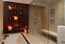 Great showers/bathrooms