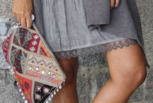 Boho / Such a interesting, pretty and laid back style