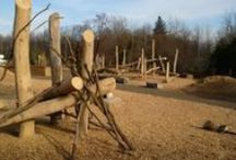natural playscape. / Huron Natural Area - Kitchener, Canada