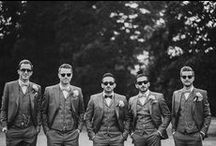 Groom / #Weddinginspiration for the #groom + his #groomsmen
