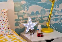 Kids Wallpaper for kids rooms / A collection of cool wallpapers decorating our children's rooms