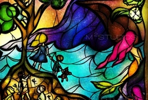 Painting With Light. / Stained Glass. / by Debbie B. Spence