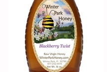 Blackberry Twist Honey, Pure, Natural, Raw / Our Blackberry Twist Honey is one of our best tasting honeys. There is NO flavoring in this honey. This exquisite honey was created from the nectar of blackberry blossoms by honeybees.. It has a delightfully delicate, not too sweet, taste. You can almost taste the blackberries. http://winterparkhoney.gostorego.com/gourmet-honey/blackberry-honey-16oz.html