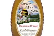 Raw Cinnamon Orange Honey