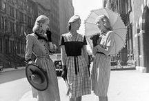 Vintage Fashion / The timeless aesthetic of women's vintage fashion.