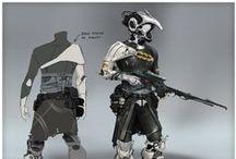 Concept Art | Characters / Wonderful concept art character designs