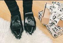.. shoe gazing ..