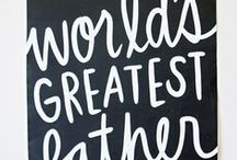 Happy Father's Day / Happy Father's Day- gift ideas for him