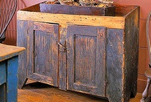 Primitive Dry Sinks / by YesterYear Primitives