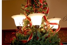 Christmas Decorated Lighting / by YesterYear Primitives