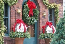 Christmas Entry Ways / by YesterYear Primitives