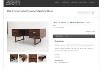 Antiques and Modern Furniture Website Design  / Antiques and Modern is located in Berkeley. Zen Den Web Design created a website to showcase the company's inventory.