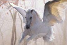 Unicorns, Centaurs, Pegasus, Olympus, Goddesses, Mythology / Mythology