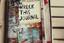 wreck this journal / imma wreck this journal.