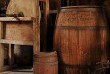 Primitive Barrels & Buckets / by YesterYear Primitives