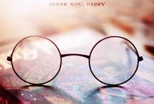 The Chosen One / Thank you, Harry, for being my escape from the real world, for the memories of staying up way past lights out to read just one more chapter, and for bringing happiness to everyone who knows the stories. / by Alessia Tomaselli