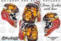 Målvaktsmasker hockey / Goalie maskhockey