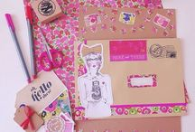 snail mail / a collection of pretty postcards, envelopes and general snail mail.