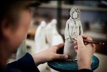 Min keramikk / Egne keramikkarbeider, forskjellige teknikker