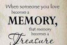 Memories to treasure / Koester je herinneringen