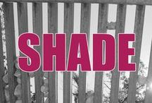 Easy Shade for NM gardens / Easy ways to get shade in hot southwestern gardens.