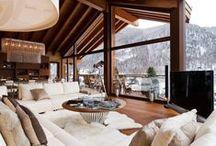 Log homes, Chalet, Rustic