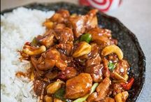 Asiatisk matlagning / Asiatisk matlagning, tekniker och recept