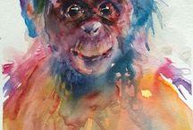 Eigen werk aquarel / watercolor / Eigen werk #aquarel #watercolour #watercolor #akvarell  Gemma Brands http://gemmabrands.blogspot.nl/p/aquarel_2.html